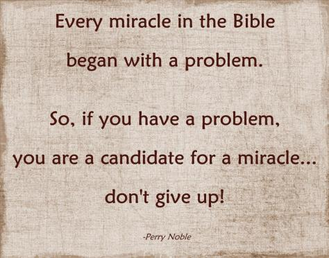 Candidate for a Miracle