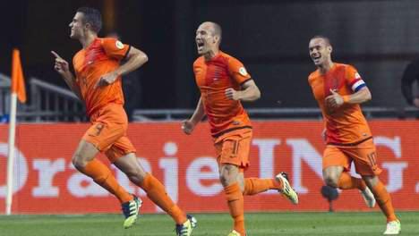 Van Perside Robben Sneijder