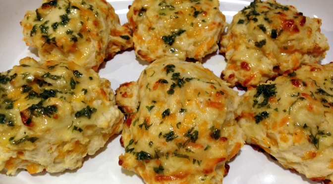 Cheddar Bay Biscuits…at home