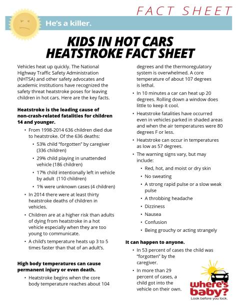 Heatstroke Fact Sheet