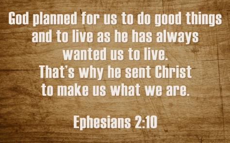 Ephesians 2 10