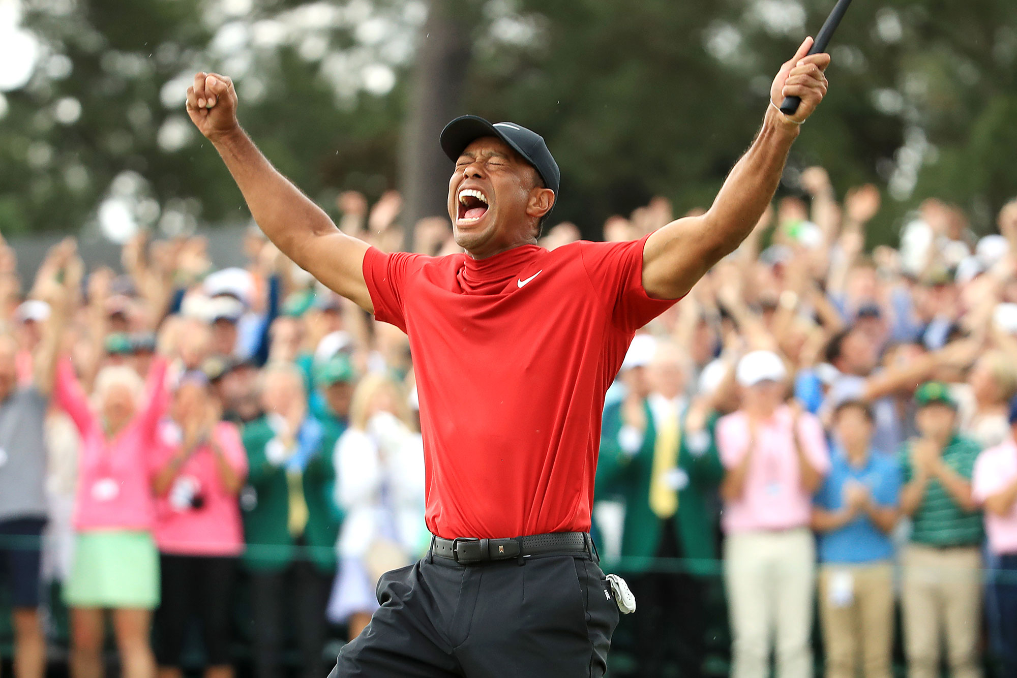 Tiger Wins Masters